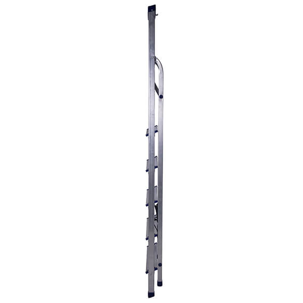 Стремянка алюминиевая с органайзером 6 ступеней