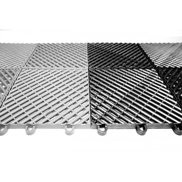 Модульное дренажное ПВХ-покрытие City 330x330x12 мм