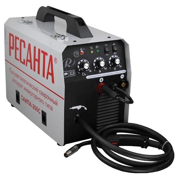 Полуавтомат-инвертор Ресанта САИПА-200С (220 В)