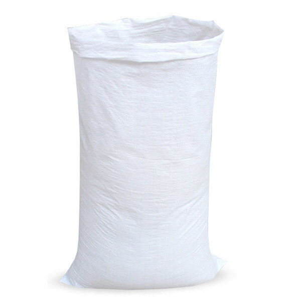 Мешок для мусора полипропиленовый на 60-100 кг, 100х150 см, 1С белый