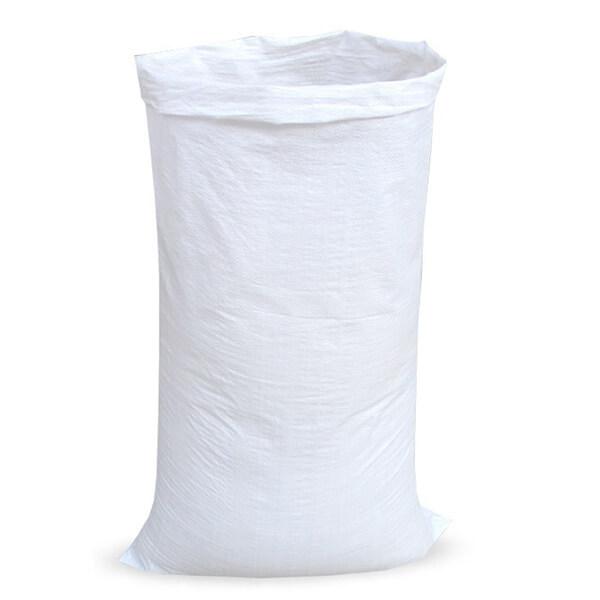Мешок для мусора полипропиленовый на 60-100 кг, 100х150 см, 1С белый, 250 шт