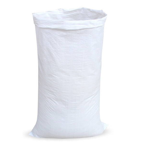 Мешок для мусора полипропиленовый на 60-100 кг, 150х170 см, 1С белый, 100 шт