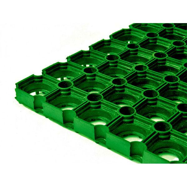 Грезезащитный резиновый коврик Гамми 1200×800х22 мм зеленый