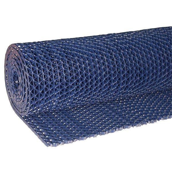 Рулонное покрытие Зигзаг 15000х1200х5 мм синий