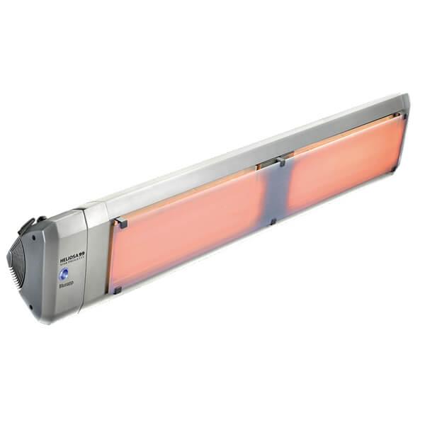 Инфракрасный обогреватель Heliosa Hi Design 99 4000 Вт, cо стеклом, Bluetooth и пультом