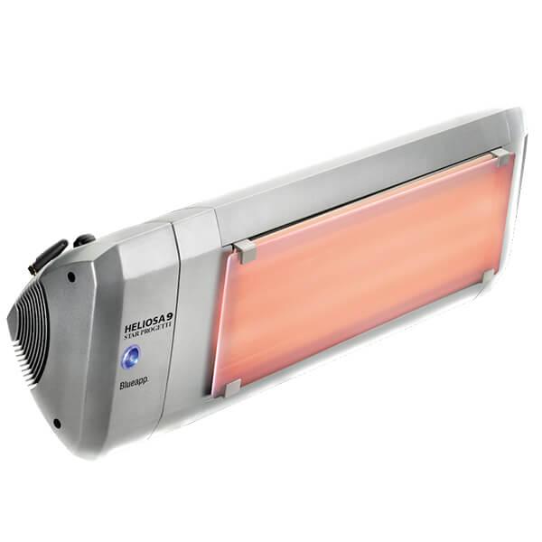Инфракрасный обогреватель Heliosa Hi Design 9 2200 Вт, со стеклом, Bluetooth и пультом