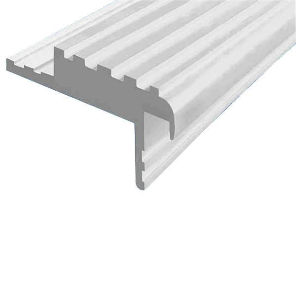 Закладной противоскользящий профиль «Безопасный Шаг» (БШ-50) белый