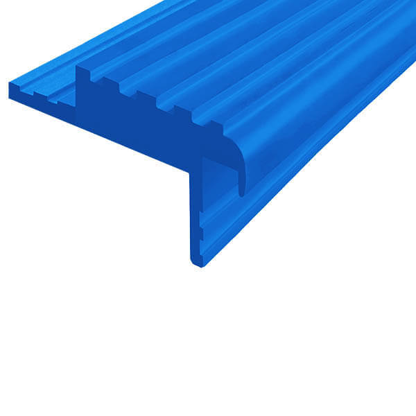 Закладной противоскользящий профиль «Безопасный Шаг» (БШ-50) синий