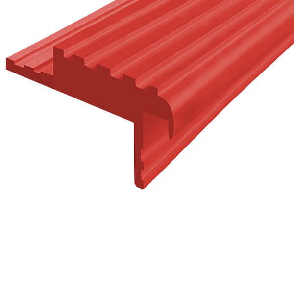 Закладной противоскользящий профиль «Безопасный Шаг» (БШ-50) красный
