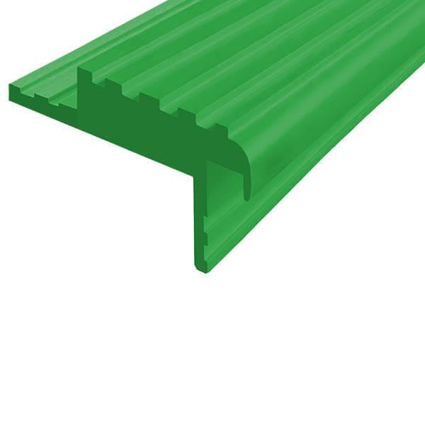 Закладной противоскользящий профиль «Безопасный Шаг» (БШ-50) зеленый