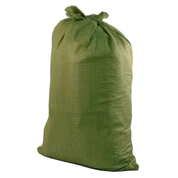 Мешок для мусора полипропиленовый на 60-100 кг, 70х120 см, 2С зеленый, 600 шт