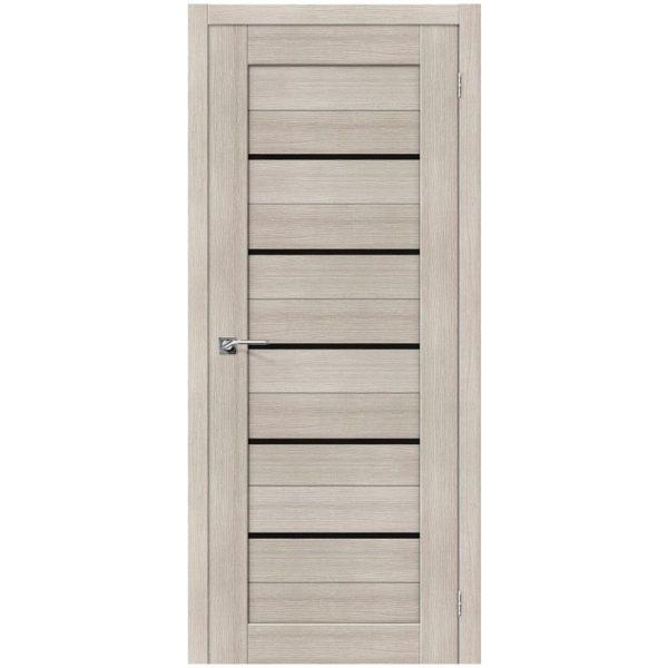 Межкомнатная дверь Порта-22, Cappuccino Veralinga, Black Star