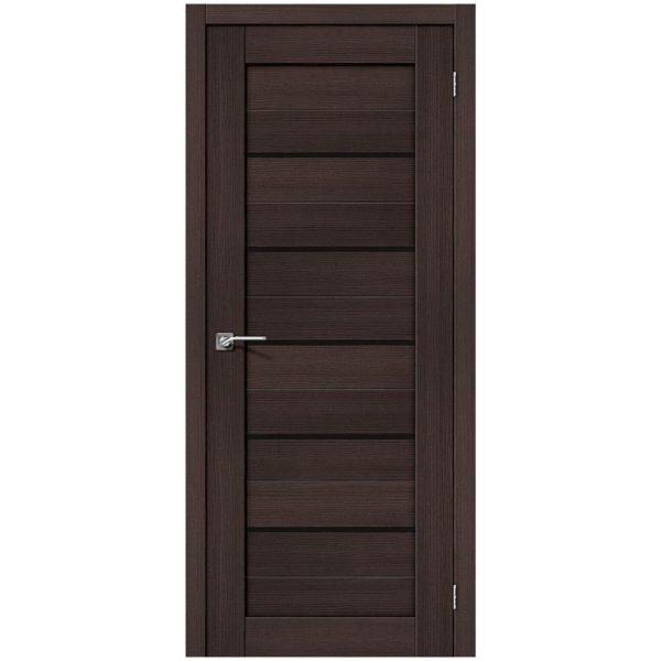 Межкомнатная дверь Порта-22, Wenge Veralinga, Black Star