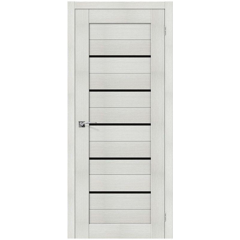 Межкомнатная дверь Порта-22, Bianco Veralinga, Black Star