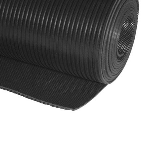 Грезезащитный резиновый коврик Милле Рич 10000×1200х3 мм черный