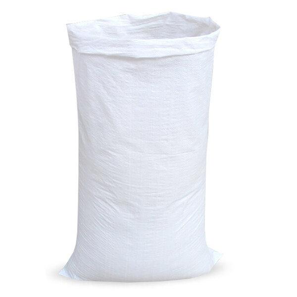 Мешок для мусора полипропиленовый на 50 кг, 55х105 см 90г, ВС белый