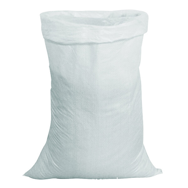 Мешок для мусора полипропиленовый на 25 кг, 45х75 см с ПНД вкладышем, белый, 500 шт