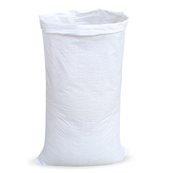 Мешок для мусора полипропиленовый на 60-100 кг, 80х120 см, 1С белый