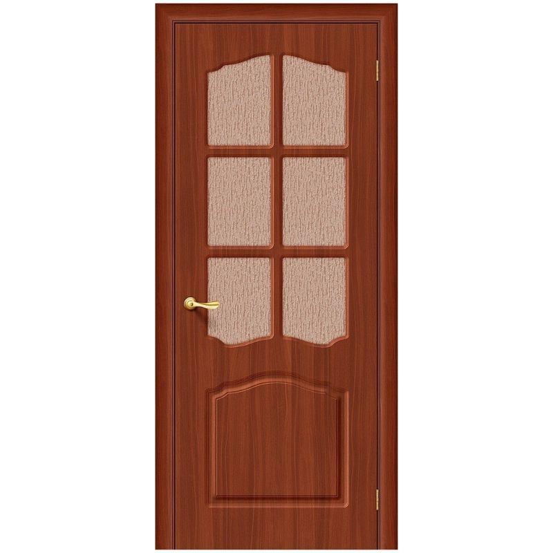 Межкомнатная дверь Лидия, П-17 (ИталОрех), Риф.