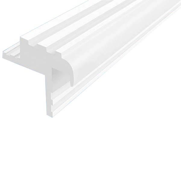 Закладной противоскользящий профиль «Безопасный Шаг Премиум» (БШ-30) белый