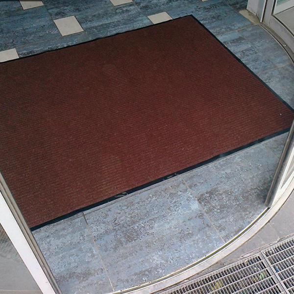Грязезащитный ворсовый коврик Line 1200х1800 мм серый