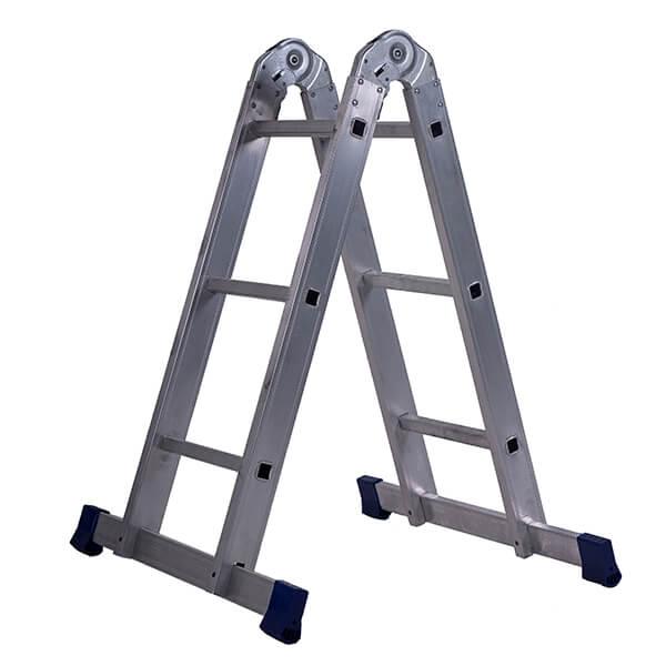 Лестница алюминиевая трансформер 2х3 ступеней
