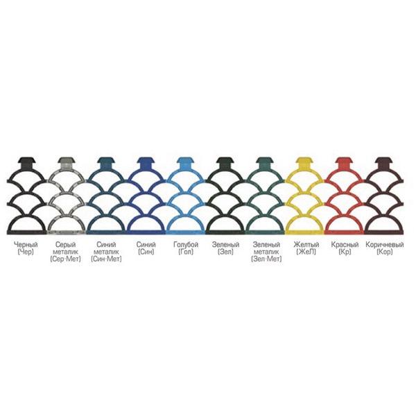 Грязезащитные модульные напольные покрытия Барьер 19 395x50x19,4 коричневый