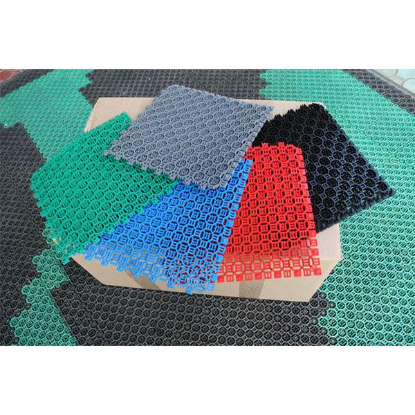Грязезащитные модульные напольные покрытия СитиПласт 250x250x16серый