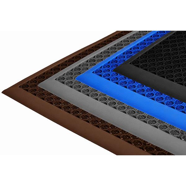 Грязезащитные модульные напольные покрытия СитиПласт 250x250x16 коричневый