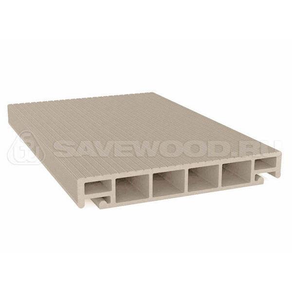Террасная доска ДПК SW Salix 6000х163х25 мм, 0,98 м2