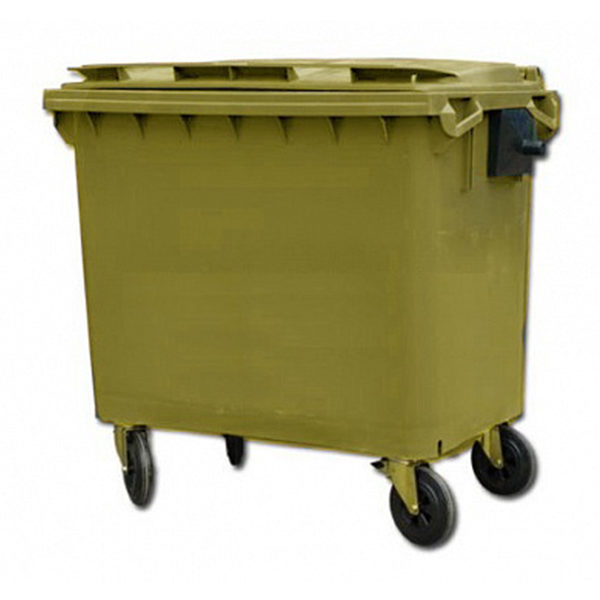 Контейнер для мусора 660 л на колесах