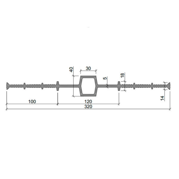 Гидрошпонка ПВХ ДВ-320/30.1