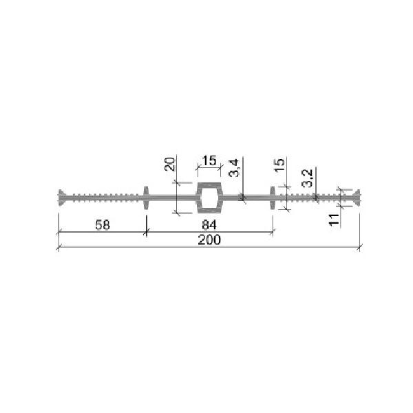 Гидрошпонка ПВХ ДВ-200/15