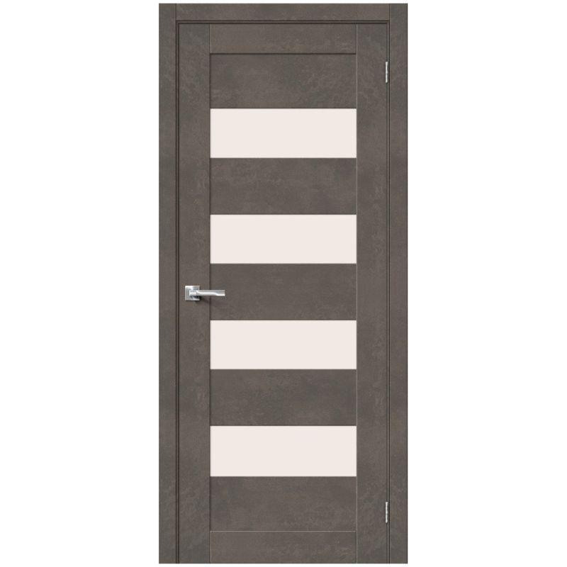 Межкомнатная дверь Браво-23, Brut Beton, Magic Fog