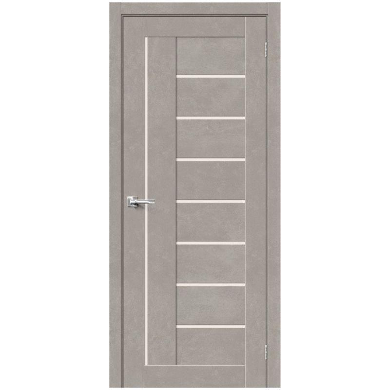 Межкомнатная дверь Браво-29, Gris Beton, Magic Fog