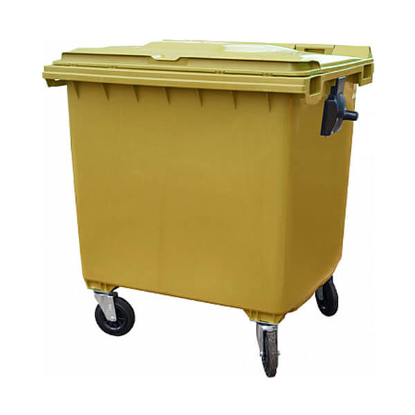 Контейнер для мусора 1100 л на колесах