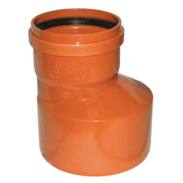Переход для трубы наружной канализации 160/110 мм