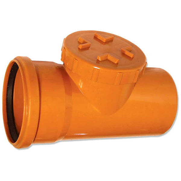 Ревизия для трубы наружной канализации 200 мм