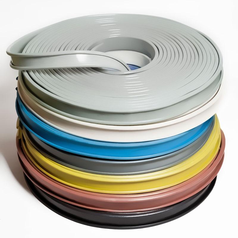 Поручни ПВХ для перил 40×5мм, цвет под заказ, 21м
