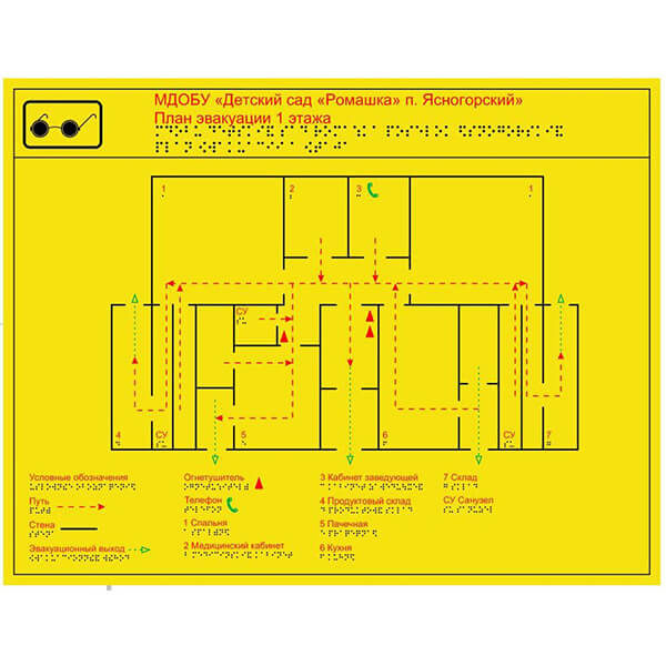 Тактильная мнемосхема 905x1150 композит