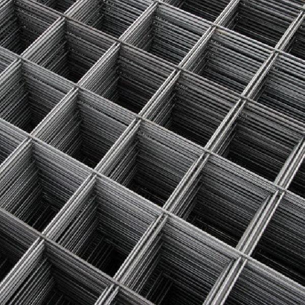 Сетка сварная из проволоки ВР-1 в картах 200x200x5мм, 1x3м