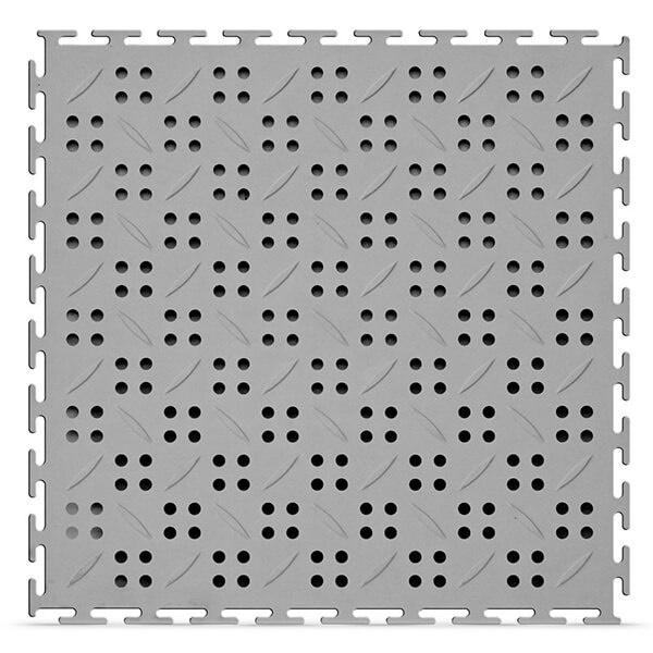 Модульное дренажное ПВХ-покрытие Canal 12x375x375 мм