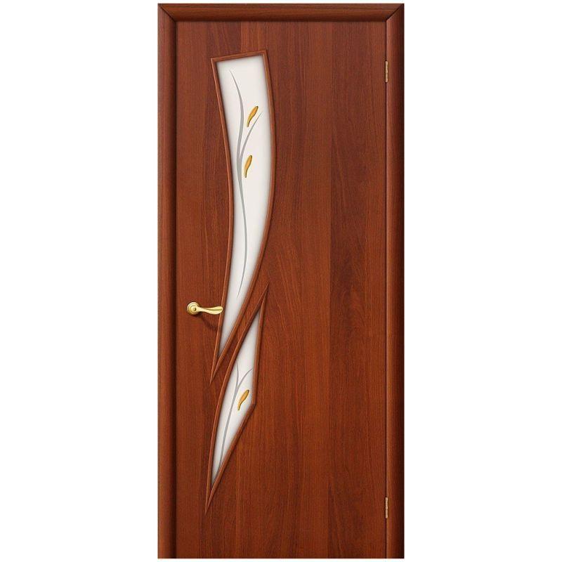 Межкомнатная дверь 8Ф, Л-11 (ИталОрех), Фьюзинг