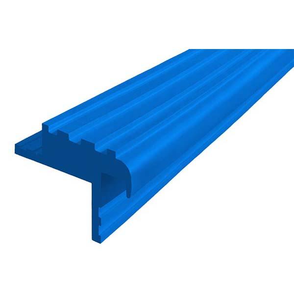 Закладной противоскользящий профиль «Безопасный Шаг» (БШ-40) синий