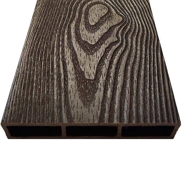 Доска из ДПК NauticPrime для грядок, клумб 150х25х2950 мм, венге