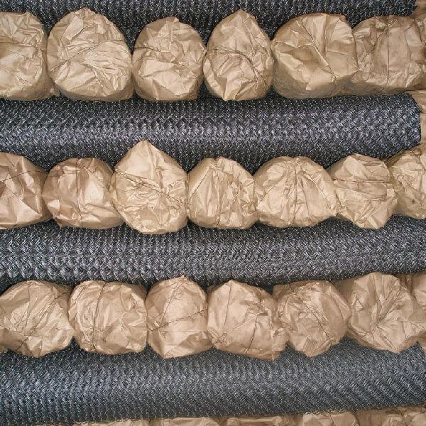 Сетка рабица оцинкованная 1,2х10 м ячейка 50х50 мм