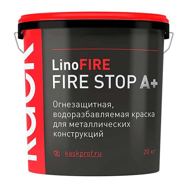 Огнезащитная краска КАСК FIRE STOP A+, 20 кг.