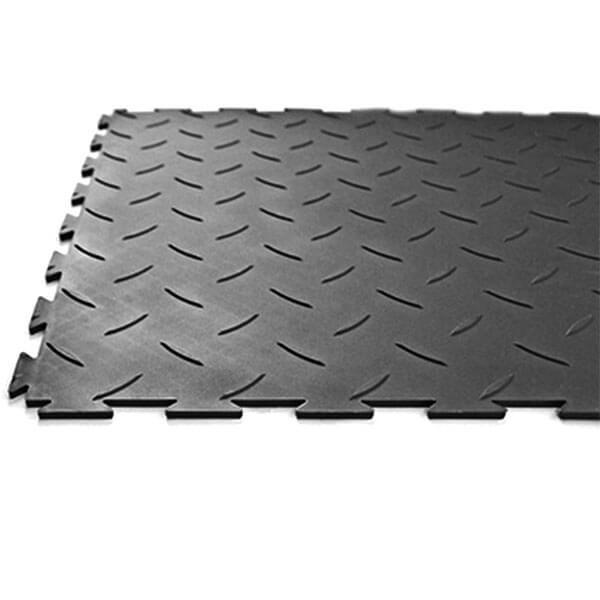 Модульное напольное ПВХ-покрытие Sensor Rice 5x500x500 мм