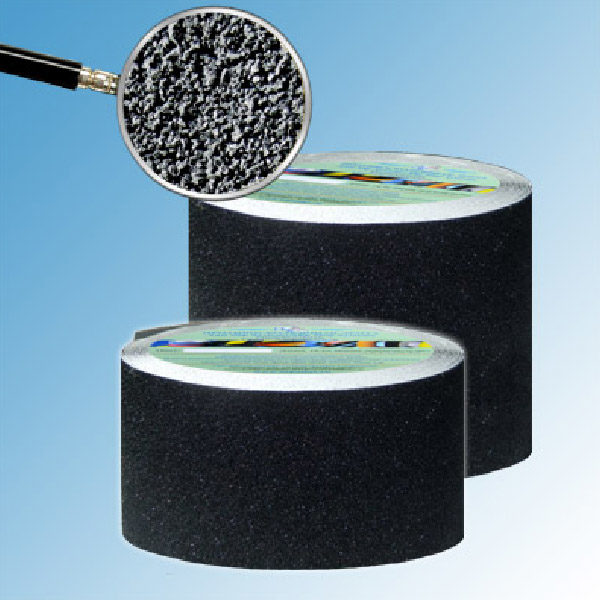 Противоскользящая абразивная черная лента Antislip Systems 60 grit, 18.3 м 150 мм
