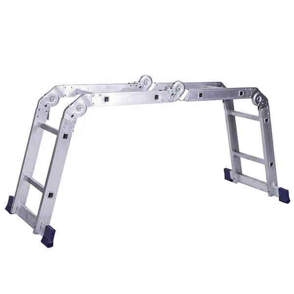 Лестница алюминиевая трансформер 4х2 ступени